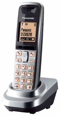 Panasonic Telefon-Mobilteil KX-TGA641EXS (Silber)
