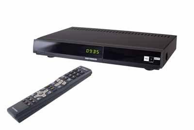 Kathrein DVB-S Receiver UFS 935sw/HD+ (Schwarz)