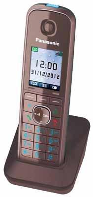 Panasonic Telefon-Mobilteil KX-TGA815EXA (Mocca-Braun)