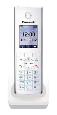 Panasonic Telefon-Mobilteil KX-TGA855EXW (Weiss)