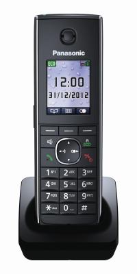 Panasonic Telefon-Mobilteil KX-TGA855EXB (Schwarz)
