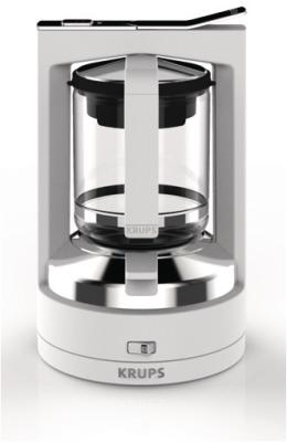 Krups Kaffee-Druckbrühmaschine KM4861 T8.2 (Weiss)